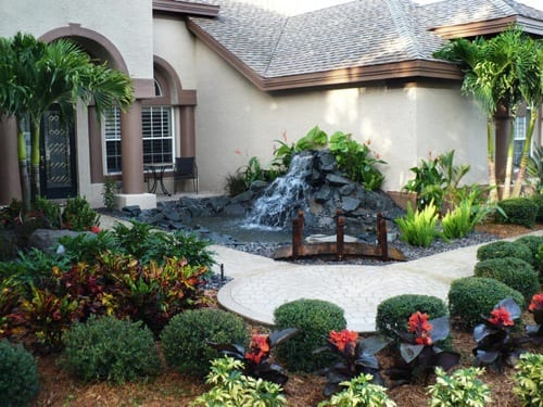 10 (Literally) Cool Ideas for Water Features on Front Yard Waterfall Ideas id=76879