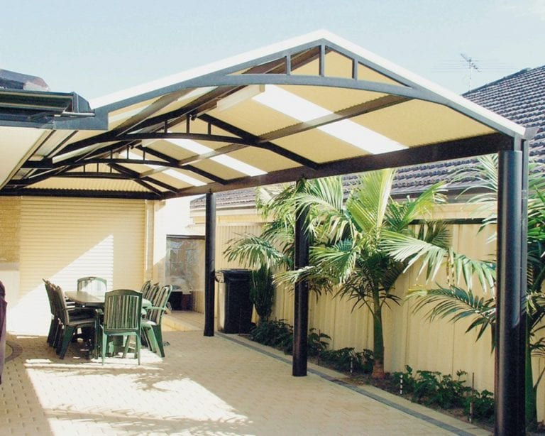12 Amazing Aluminum Patio Covers Ideas and Designs on Covered Patio Design Ideas id=52841