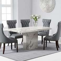 Marble Dining Table And Chairs Sets Uk Furniture In Fashion