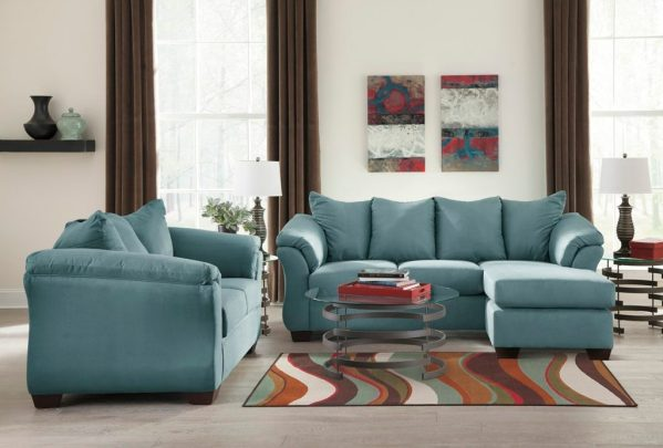 Ashley Darcy Chaise Living Set