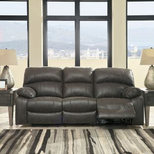 Miraculous Austere Gray 2 Seat Reclining Power Sofa Furniture Pdpeps Interior Chair Design Pdpepsorg