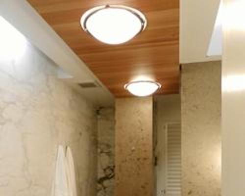 recessed lighting in concrete ceilings