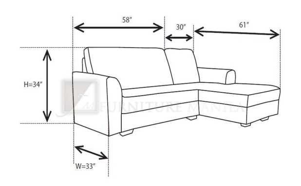 L Shaped Sofa Standard Size
