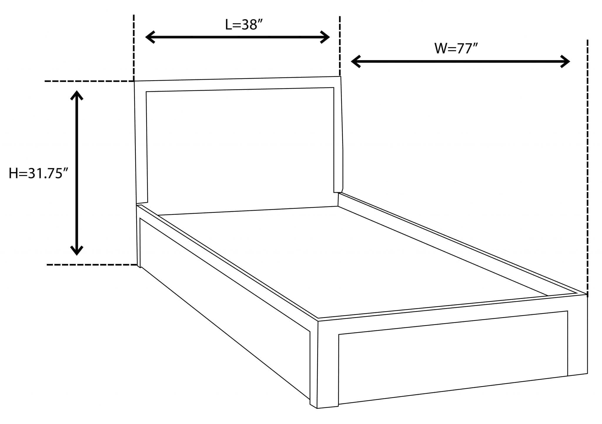Bahar Bed Frame