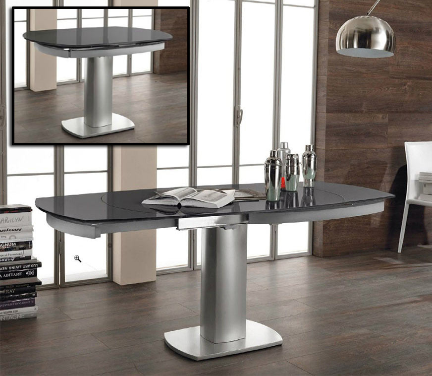 Vig Modrest Indulge Compact Extendable Dining Table Dallas Tx Dining Room Dining Tables Furniture Nation