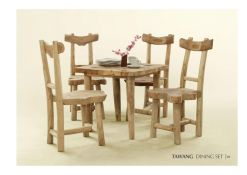 Tawang Dining Set From Reclaimed Furniture Wholesale For Hospitality Projects