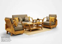 Kinanti Wooden Furniture Living Set
