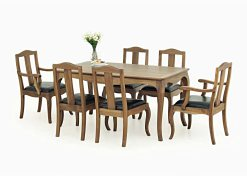 Luna Dining Set, Dining furniture wholesale, Indonesia dining furniture