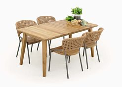 Onega Dining Set - Indonesia Outdoor furniture wholesale