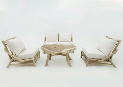 Aksa Living Teak Branch Furniture