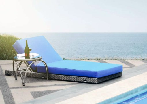 Andaman Lounger Synthetic Furniture With Table, outdoor furniture wholesale