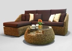 Wicker furniture, Bahamas Corner Rattan Set