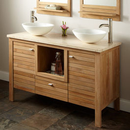 Contemporary Bathroom Cabinet Furniture With Vanities