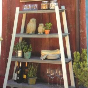 outdoor tripod shelf