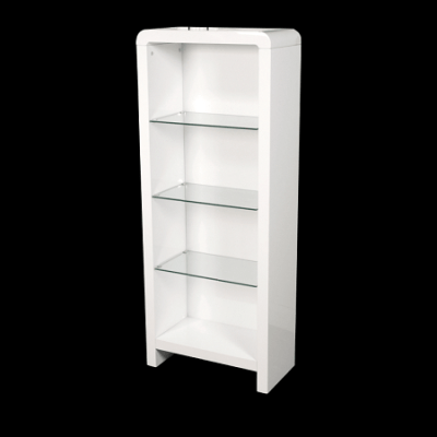 Clarus White Coffee Tables Dvd Storage Nest Of Tables