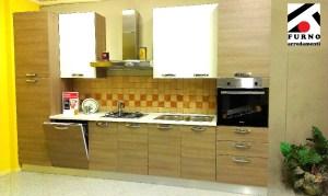 Imab Group - cucina modello Max, ml. 3,60 completa di lavastoviglie, pensili alti. Sconto 50% + 6%