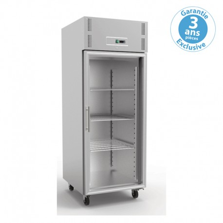 furnotel armoire refrigeree positive gn 2 1 1 porte vitree 700 l