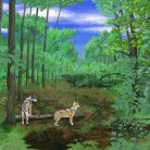 Wolves in the Forest