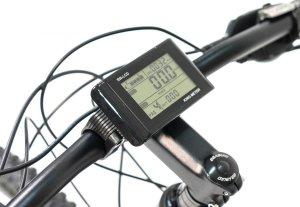 Electric mountain bike LCD screen