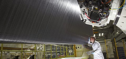Carbon Fiber Airplane Wing