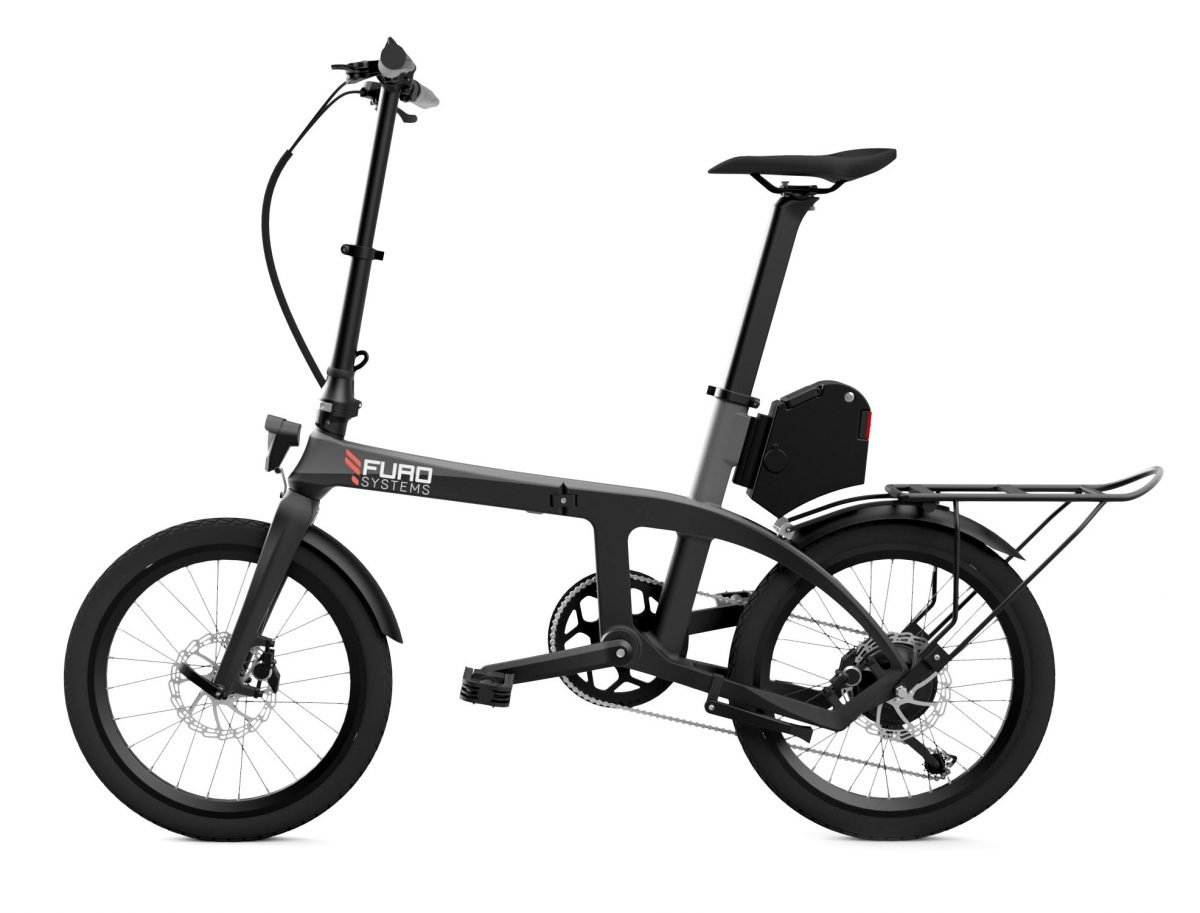 Furo X Folding Carbon Electric Bike