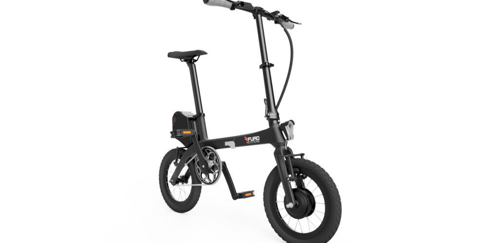 eTura - Lightest electric folding bike in the world