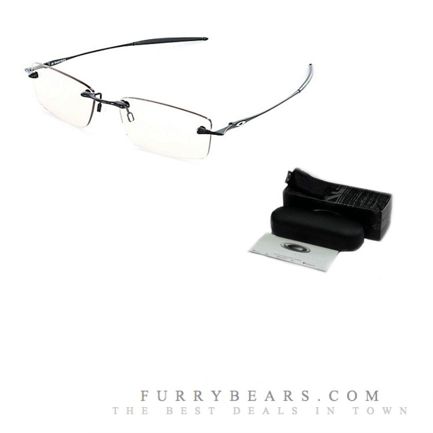 Oakley 31Thirteen Polished Black Prescription Glasses