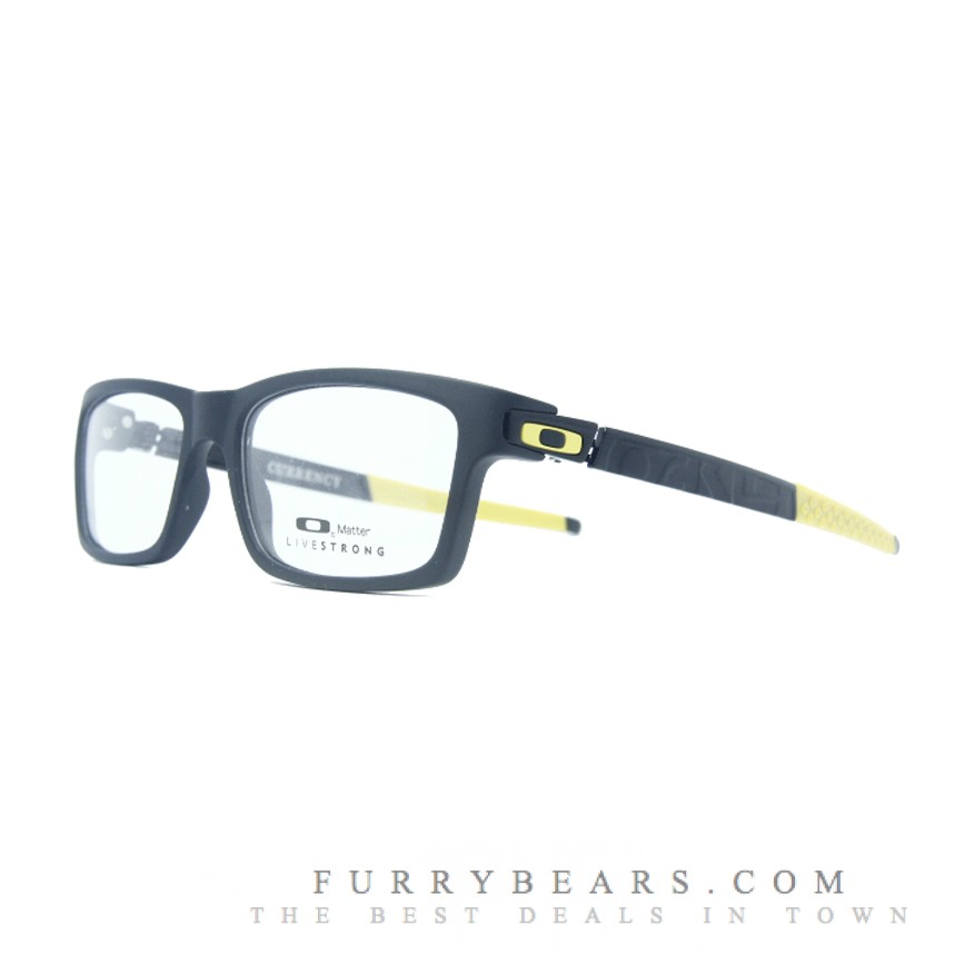 Oakley Currency Livestrong Yellow Prescription Glasses