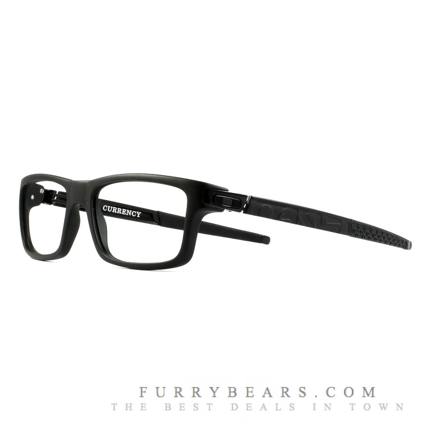 does oakley do prescription sunglasses ubik  Oakley Currency Polished Black Prescription Glasses