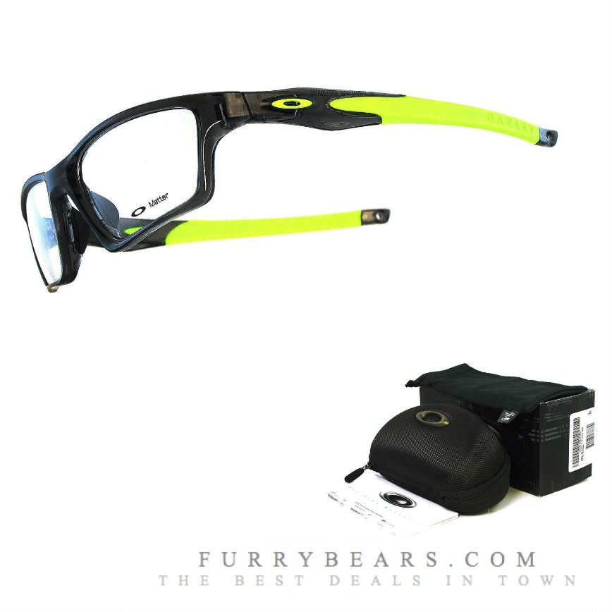 Oakley Crosslink Sweep, Smoke Grey Lime Green, OX8031