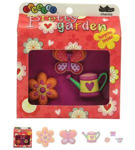 Pretty Garden 3-pack Crocs Shoe Charms
