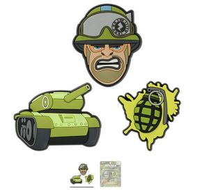 Zappar™ Military 3-pack 1