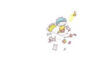絵本「箱のなかのプレゼント」4ページ目