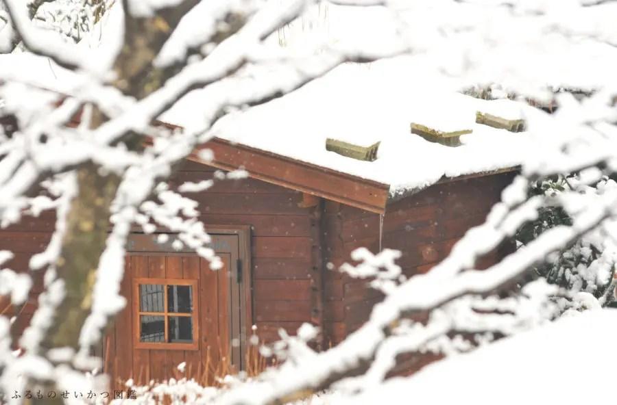 田舎暮らしの雪景色−2