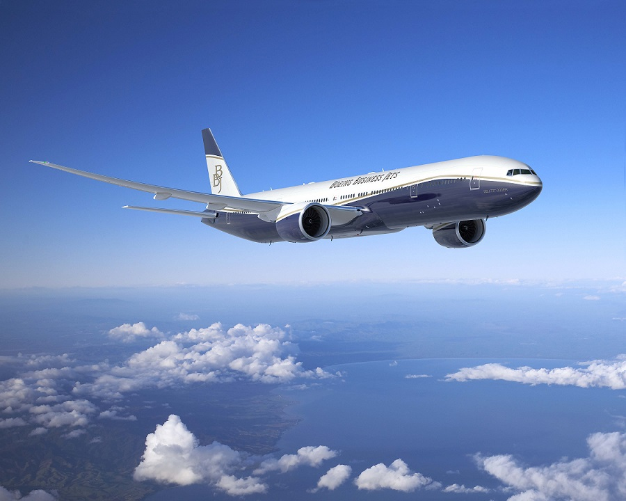 BBJ777-300ER(Picture by Boeing)