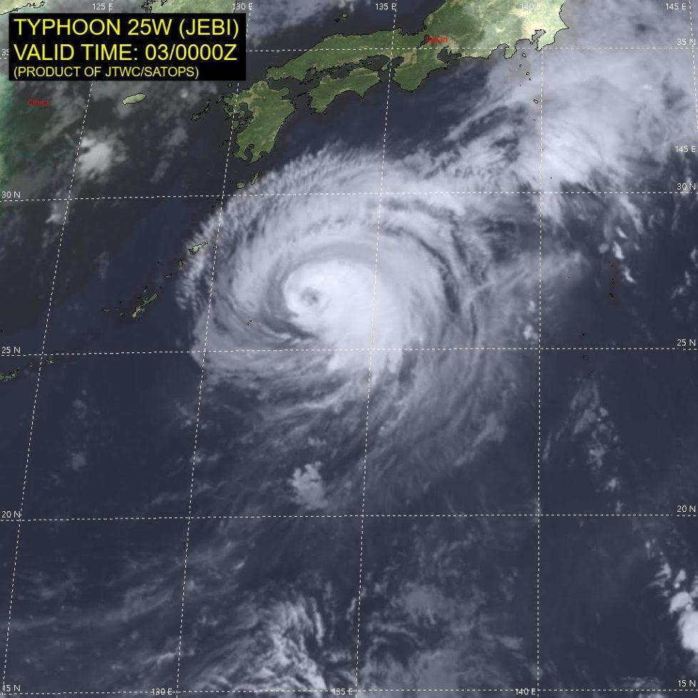 台風21号 / JEBI(JTWC)