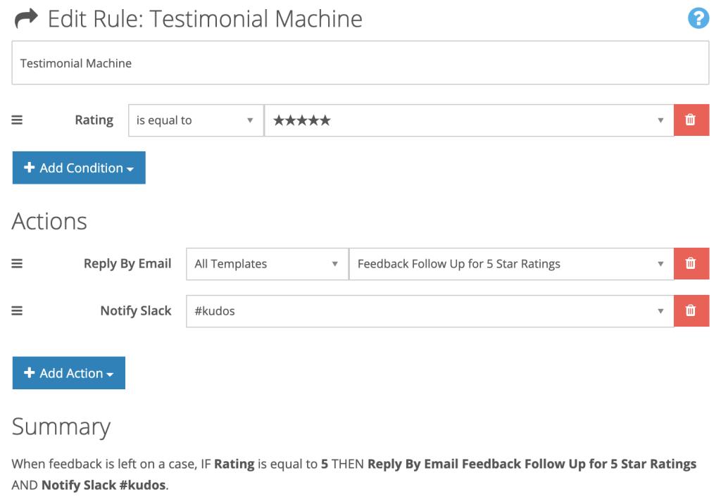 Automation Feedback Testimonial Machine