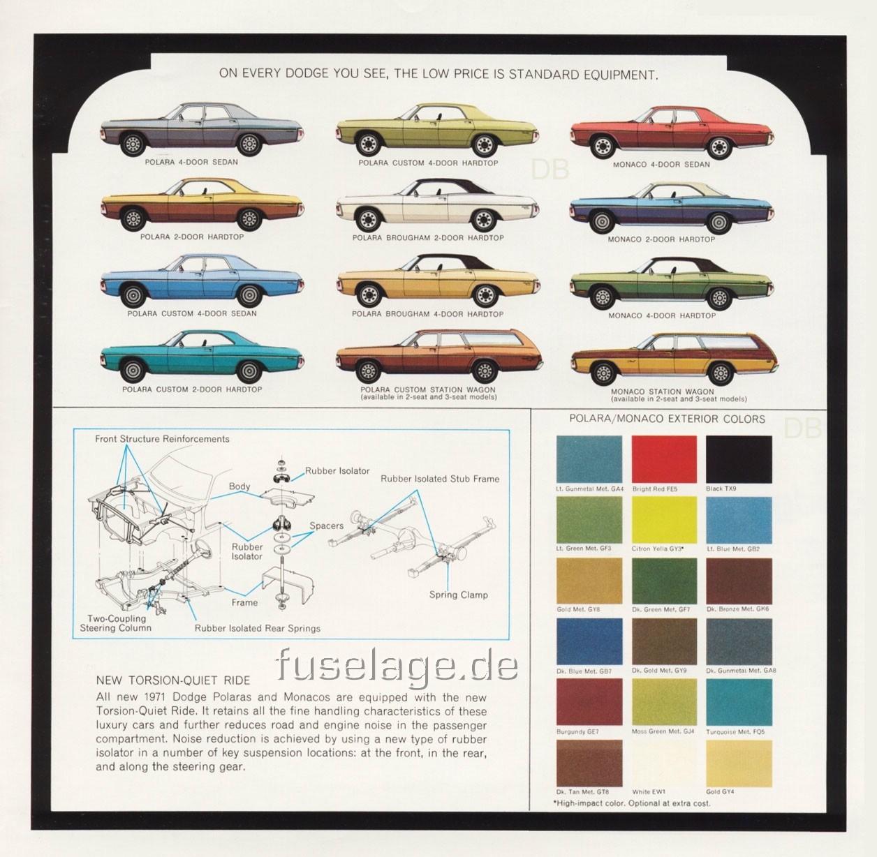 1971 Dodge Catalog Part 1
