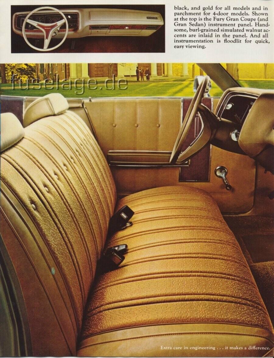 1973 Plymouth Fury Catalog