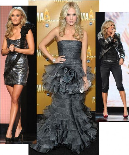 2010 Country Music Awards red carpet fashion