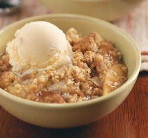 oat apple crisp