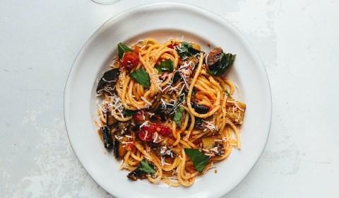 eggplant spaghetti