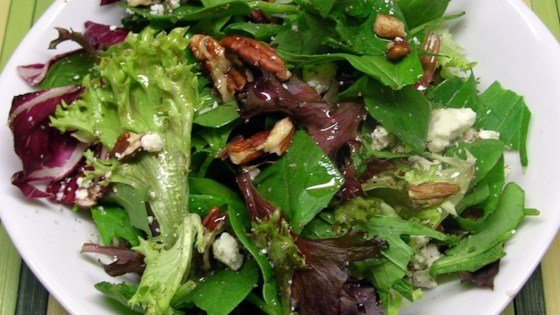 balsamic bleu cheese salad