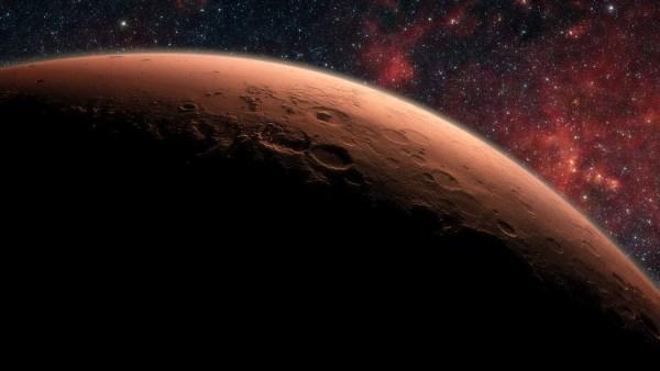 space wallpaper Mars Planet Mural