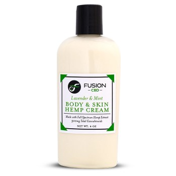 Fusion CBD Body And Skin Hemp Cream