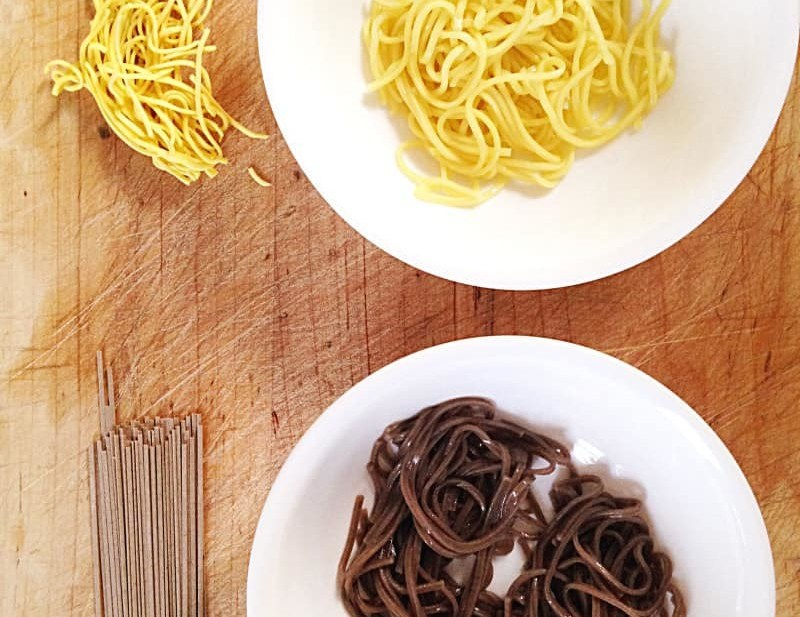 soba, chow mein