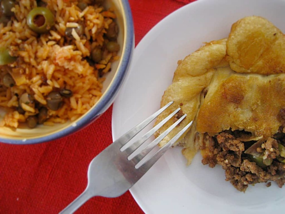 Indulge yourself with Puerto Rico's version of the ubiquitous meat pie!
