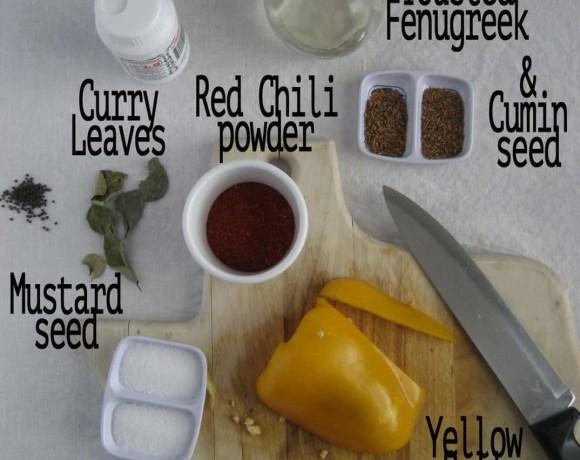 Yellow Indian Chutney