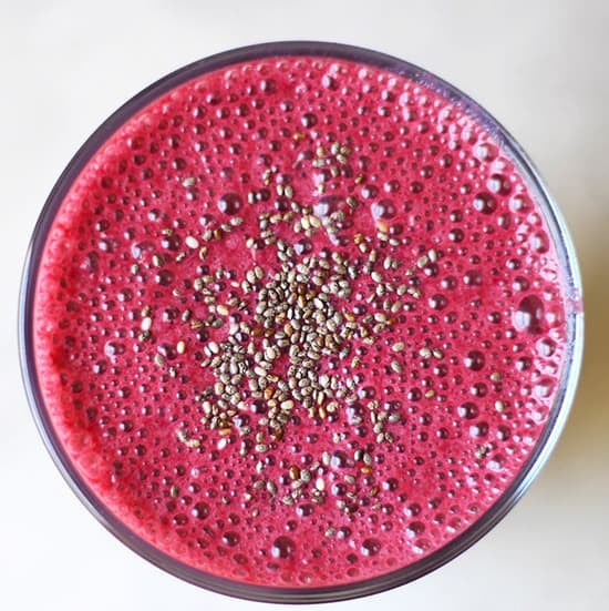 Healthy Beet Smoothie Recipe.