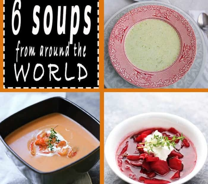 6 soups from around the world to warm you this Fall, yum!